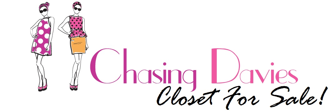 Chasing Davies Closet for Sale!
