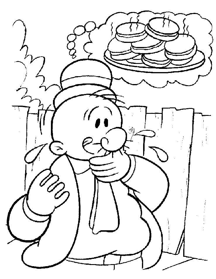 Popeye coloring pages printable free printable pictures for Popeye coloring pages