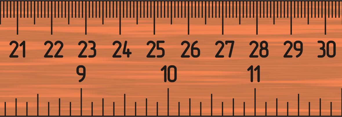 how to use a scale ruler example