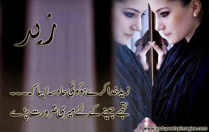 urdu latest poetry