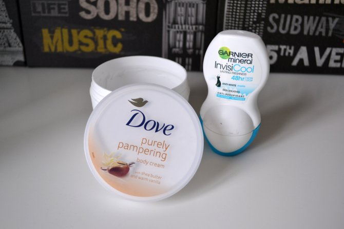Dove Purely Pampering Body Cream in Shea Butter and Warm Vanilla