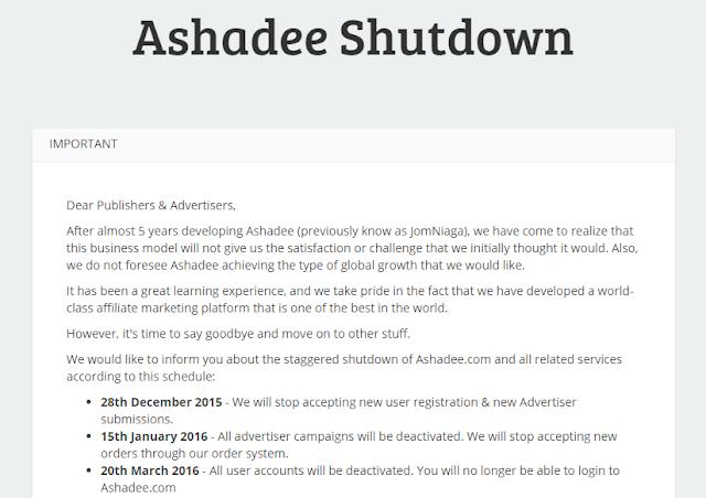 Berakhir Sudah Ashadee.com