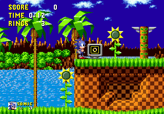 Sonic the Hedgehog, Green Hill Zone, Sega