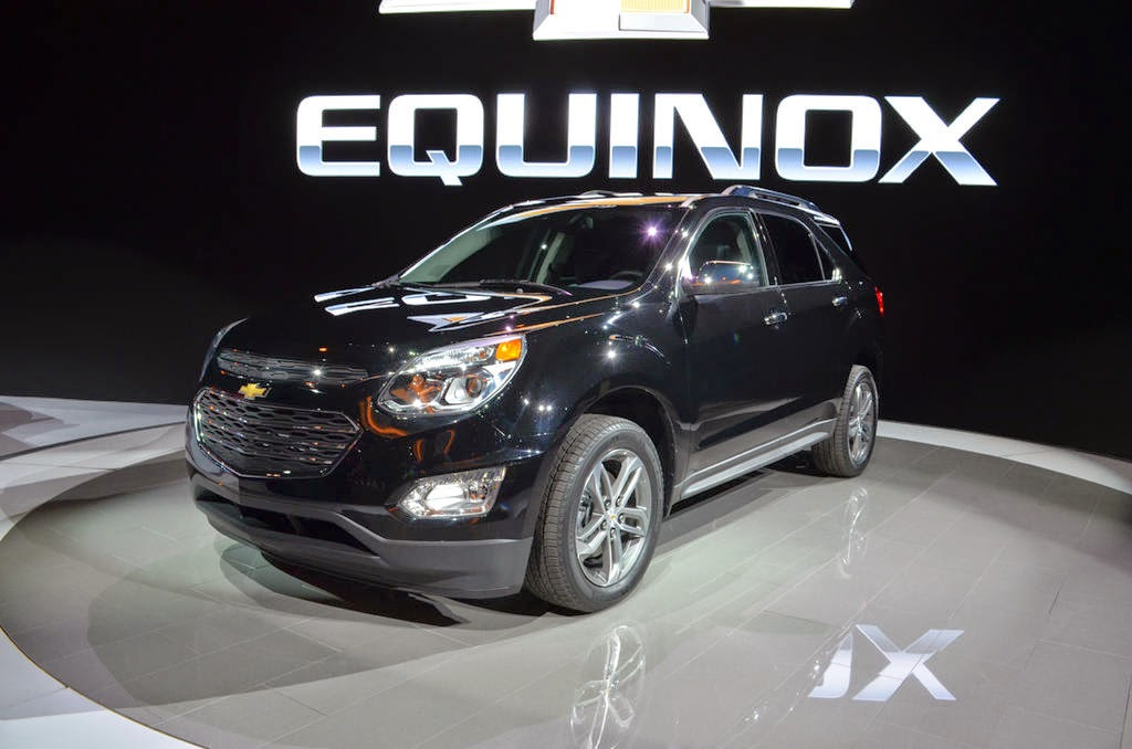 2016 Chevrolet Equinox is First Vehicle to Adopt Corvette Design Cues