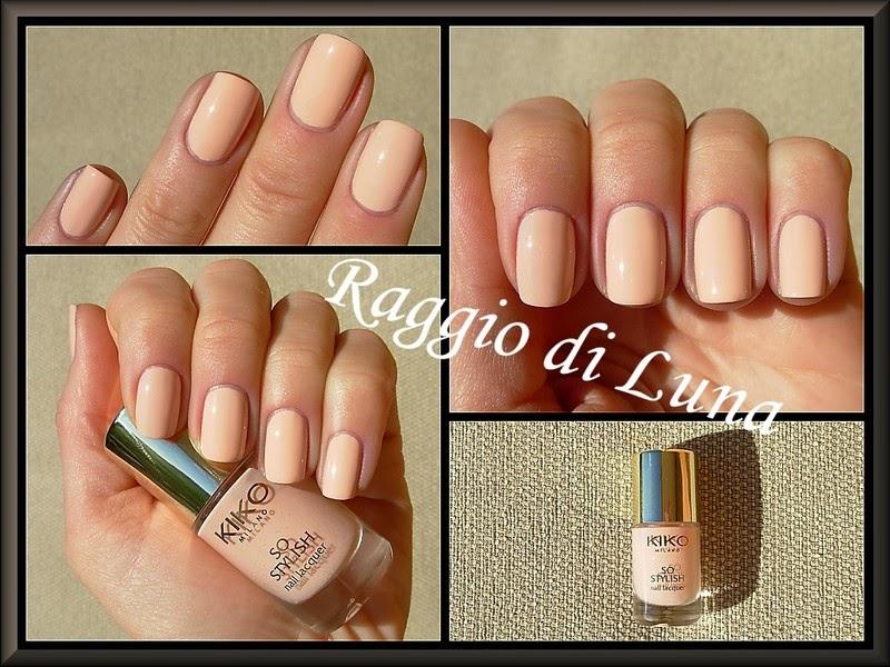 Raggio di Luna Nails: Kiko So Stylish Nail Lacquer n° 01 Blush