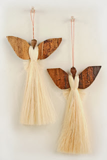 photo of Asante Angels tree ornaments