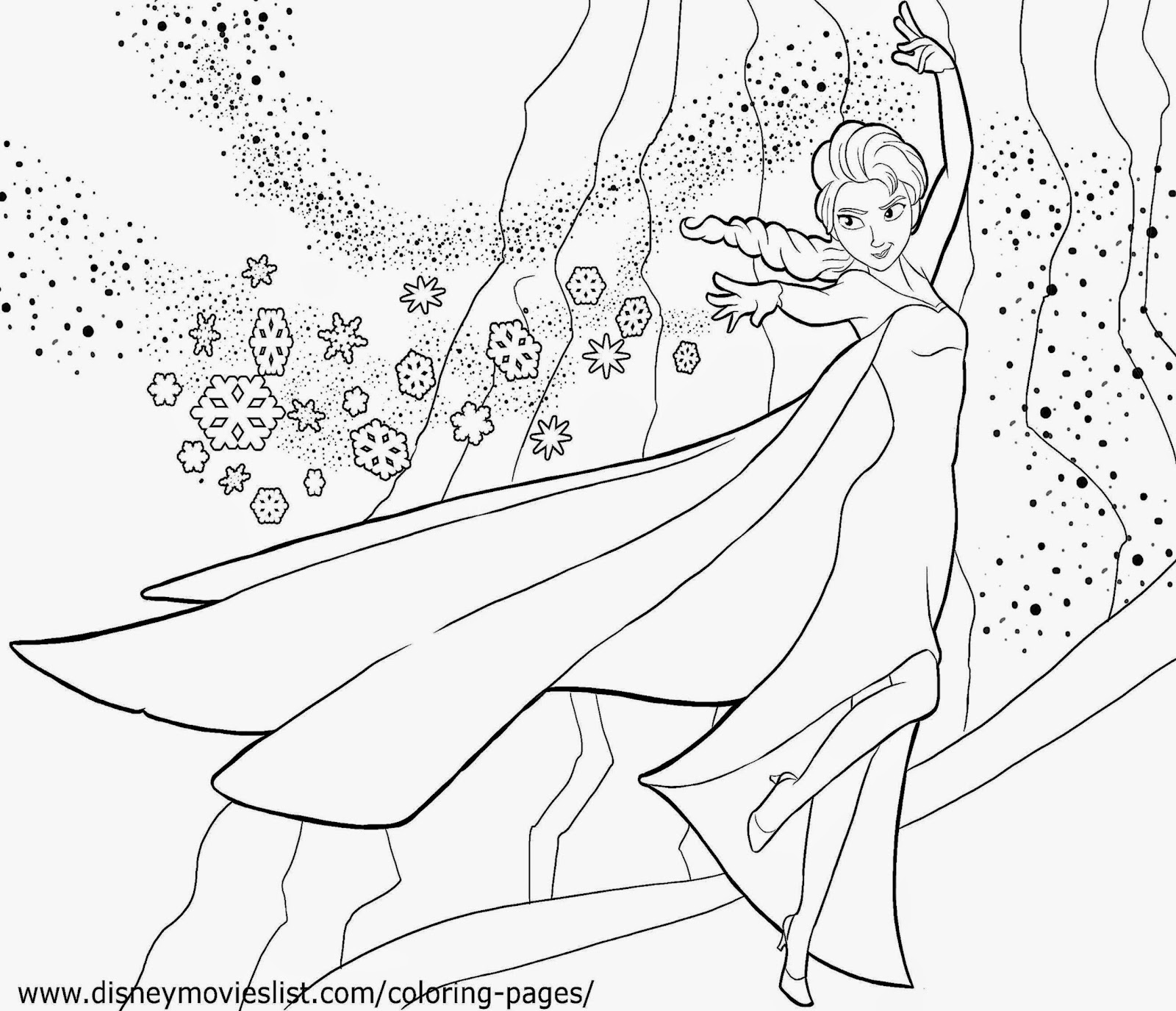 Frozen Free Coloring Pages