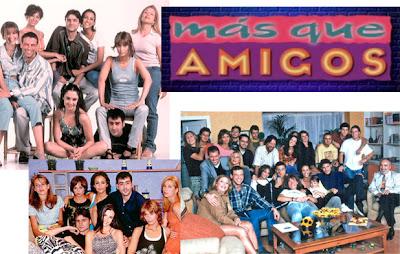 Reparto de la serie Más que amigos de Telecinco