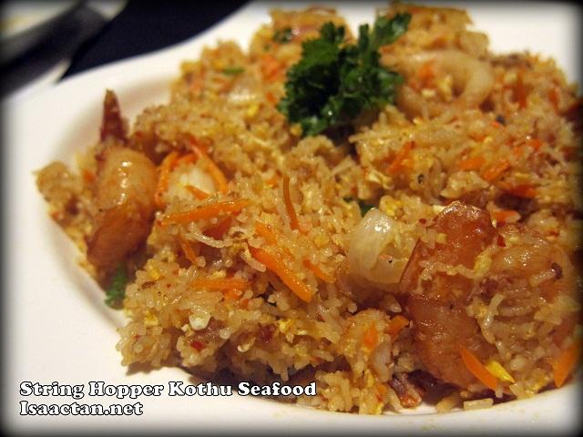 String Hopper Kothu Seafood