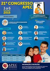 21º CONGRESSO NACIONAL DA APEC - 03 a 06 de dezembro de 2015