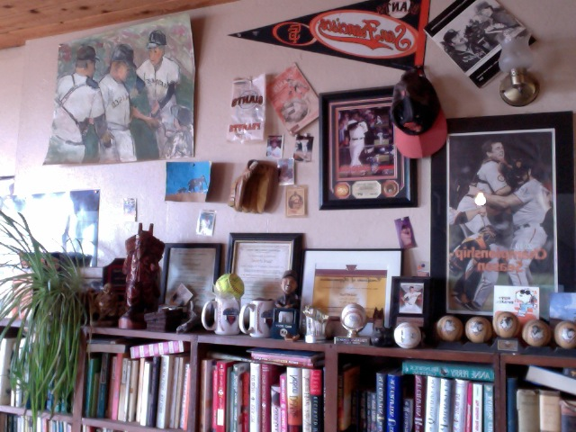 My Shrine to baseball