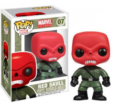 Red Skull Pop! Marvel Vinyl Figure Bobble Head by Funko