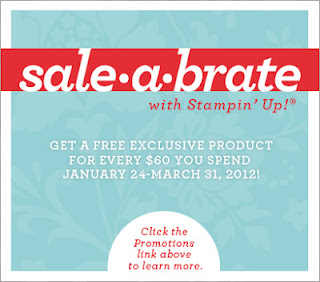 Stampin' Up! Sale-a-bration 2012