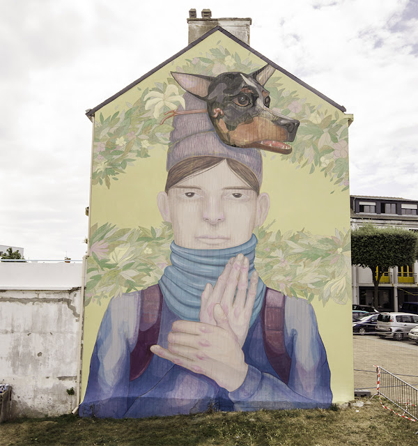 Along with INTI, another Chilean artist also participated in the Festival Escales which took place on the streets of Saint-Nazaire in France.