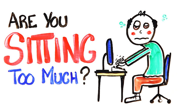 Are You Sitting Too Much? Look What You Are Doing To Your Health And How To Prevent It!