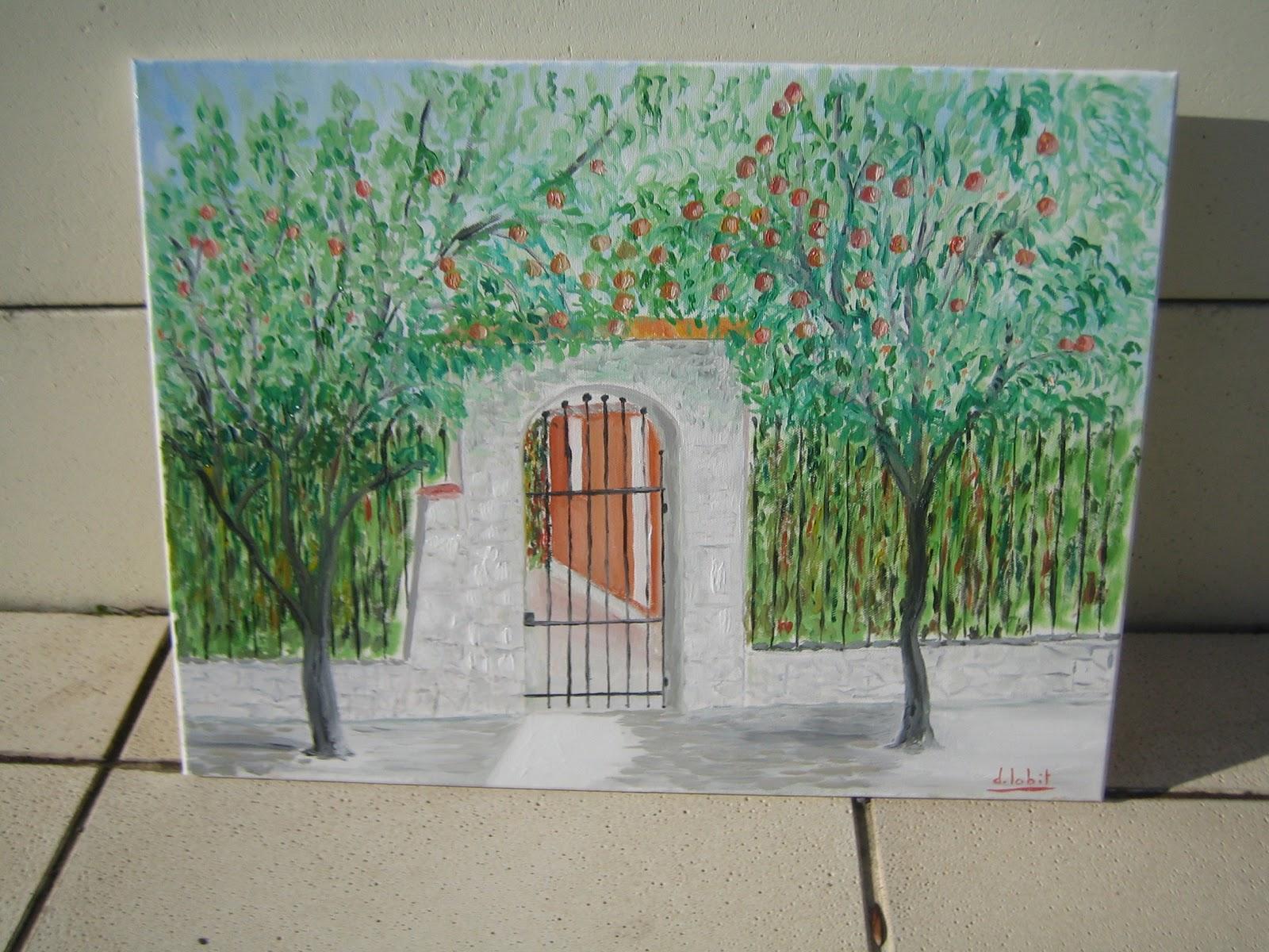 antifraise antifraise peinture des orangers decoratifs. Black Bedroom Furniture Sets. Home Design Ideas