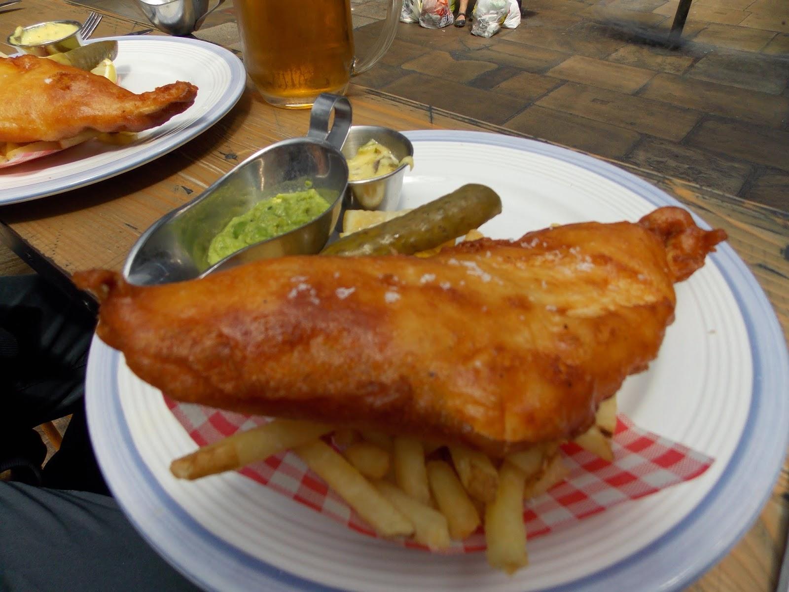 L\'uliveto sul Canal Bianco: La cucina inglese