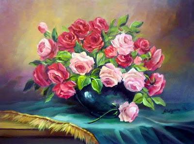 pintura-artistica-floral