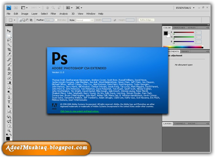 Photoshop cs4 free no key and serial