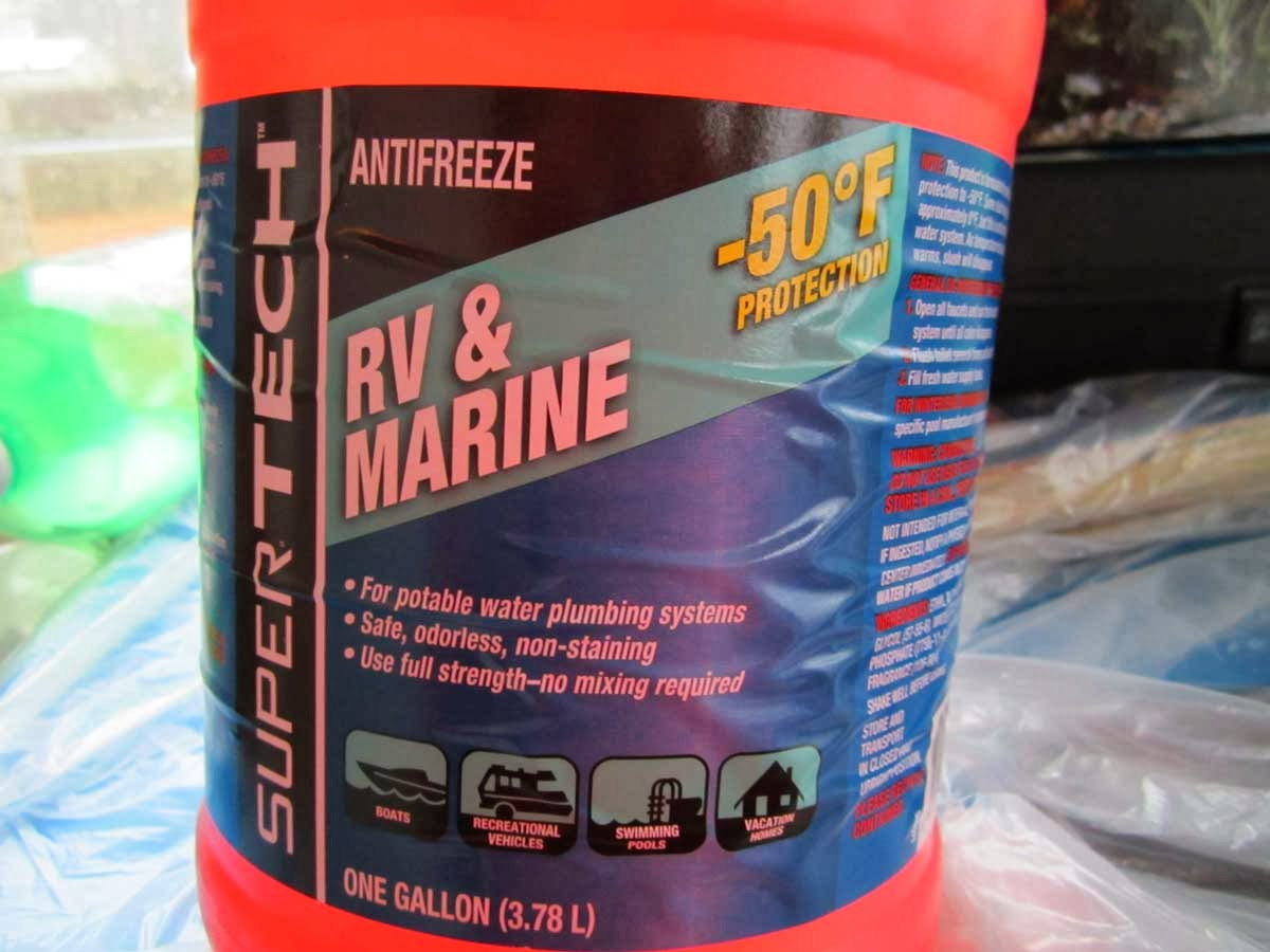 Meryl And Me Hit The Road Rv Antifreeze Frozen Engine Coolant I Read About This On Several Seemingly Reliable Sources It Has Been Stated That Will Freeze Below 10 Degrees F Discussed In