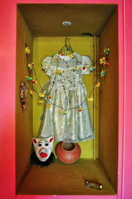 First Communion Dress and Mask Hotel Bazar Rotterdam