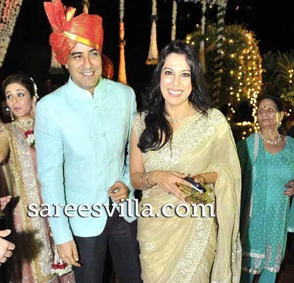 Pooja Bedi with Karan Oberoi
