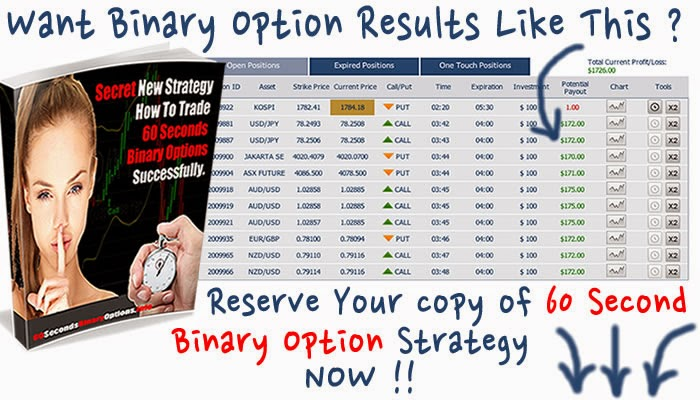 60 second binary options how to