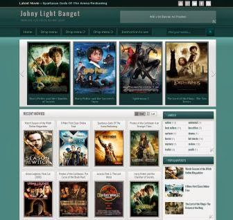 Johny Light Banget Blogger Template