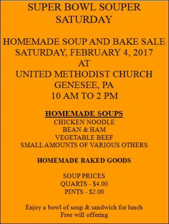 2-4 Super Bowl Souper Saturday