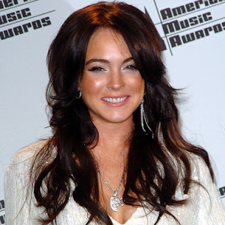 Lindsay Lohan Hairstyle - Female Celebrity Hairstyle Ideas