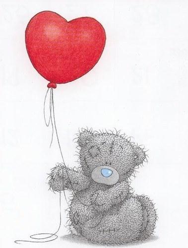 Imagenes de dibujos animados nounours - Coeur nounours ...