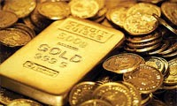 Gold prices are falling rapidly