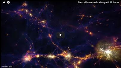 شبیهسازی سرگذشت مغناطیسی کیهان