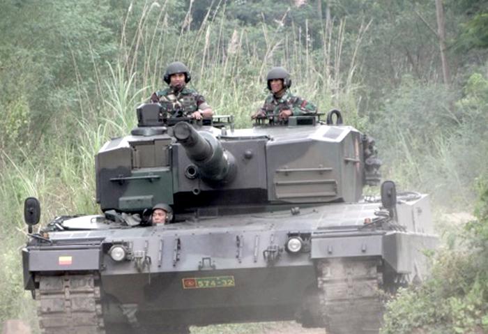 Tank Leopard 2 TNI AD