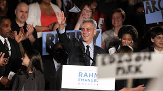 rahm emanuel elected chicago's first jewish mayor