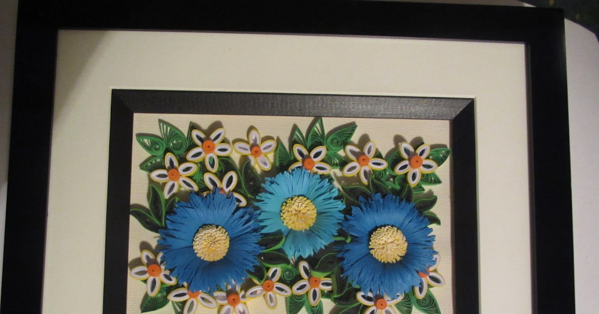 Purple/Blue Coneflowers and Pink/White Daisy Arrangement in a Frame