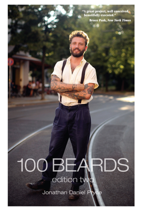 Jonathan Daniel Pryce '100 Beards' 2nd Edition Book