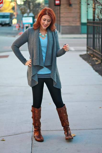 shawl, sweater, gray