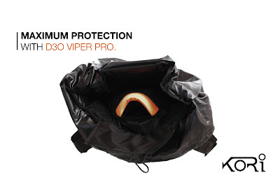 kori pack protector with d3o viper pro