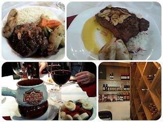 Opções do cardápio do restaurante Cantinho da Serra Grill, em Campos do Jordão