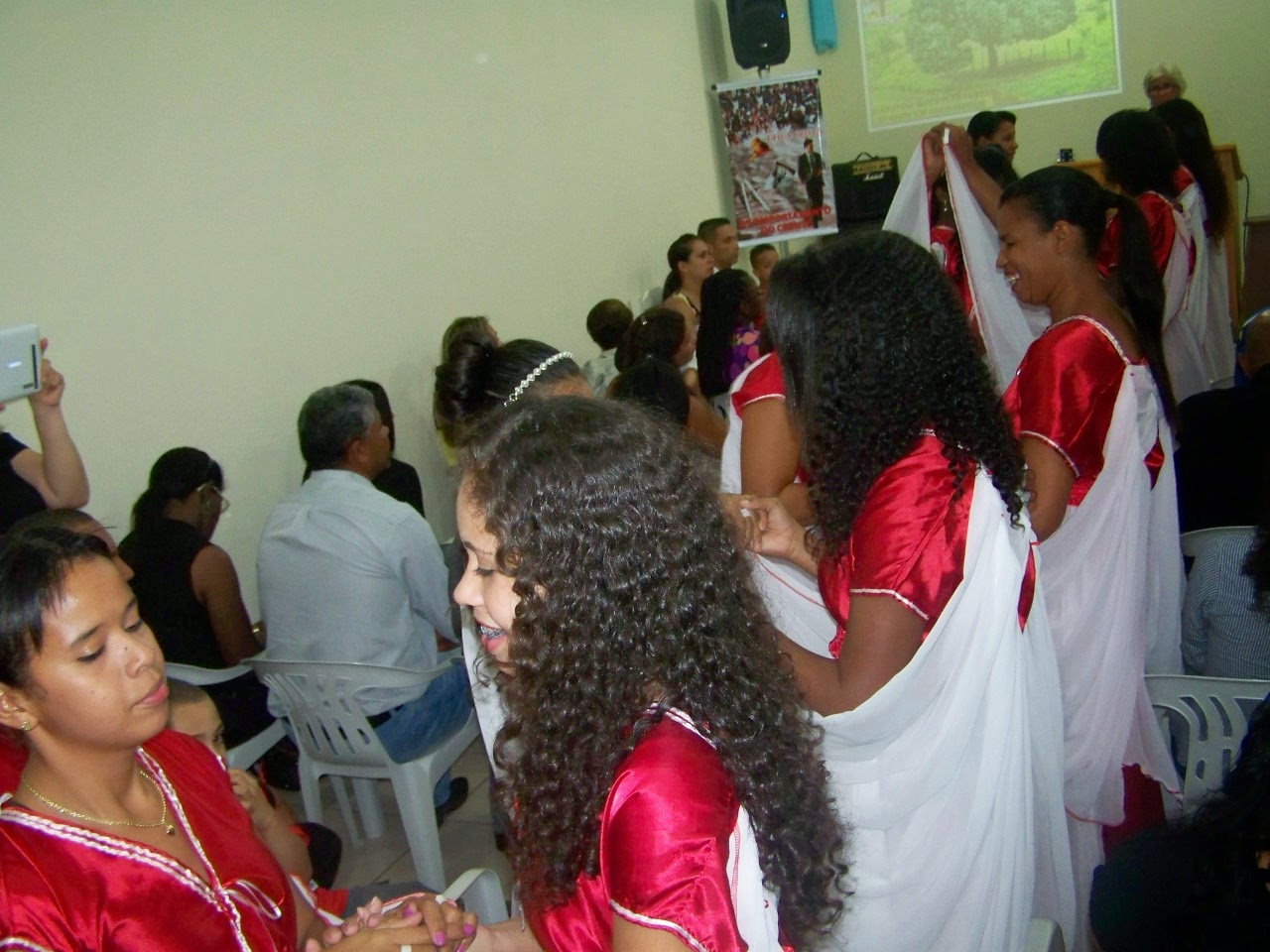 Grupo de coreografia - Igreja de Terra Boa