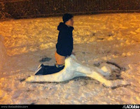 sexo muñeco nieve