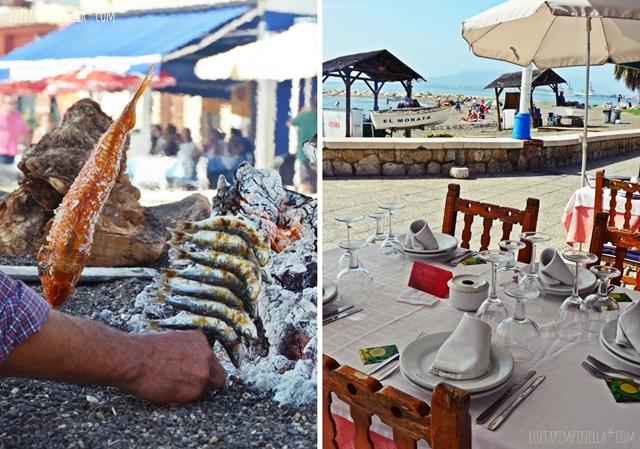 luzia pimpinella | travel | citytrip málaga | fischspezialitäten am strand
