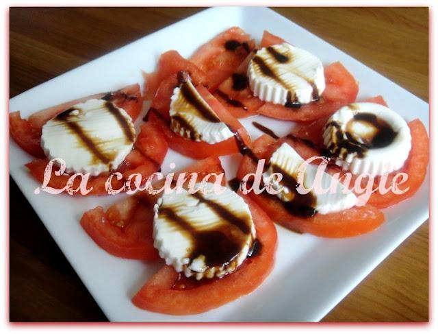 Tomates Con Reducción De Balsámico