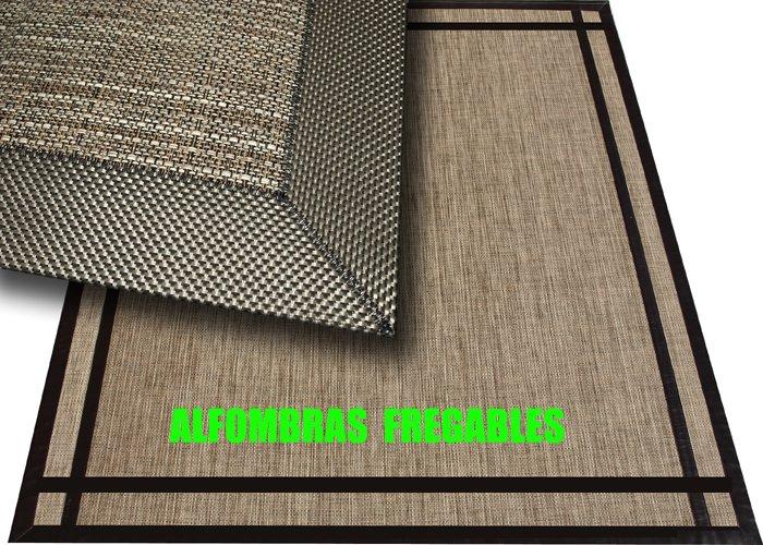 Deco hogar galdakao alfombras de vinilo fregables - Alfombras de bambu baratas ...