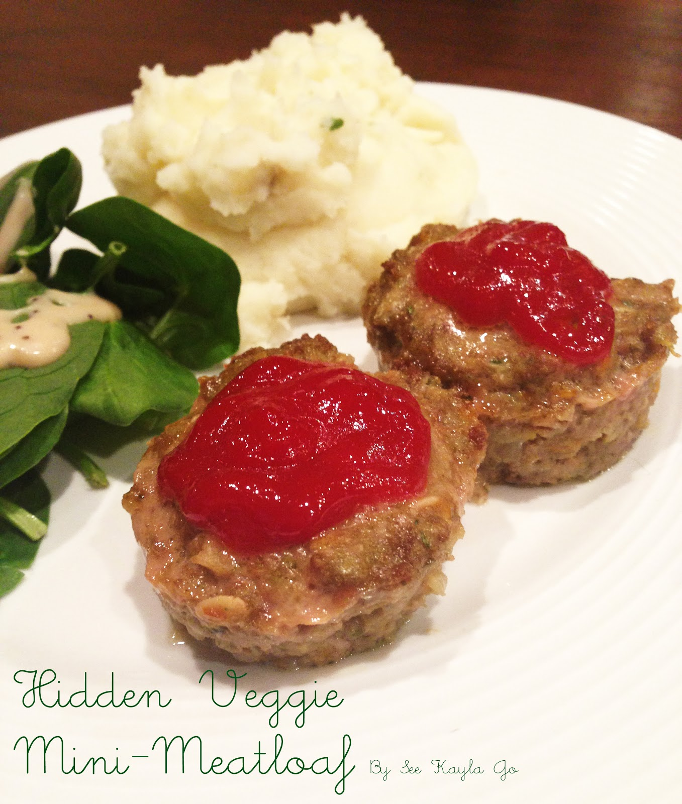 veggies is to substitute spinach puree for the ketchup that usually ...