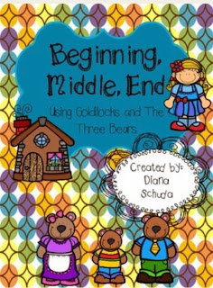 https://www.teacherspayteachers.com/Product/Beginning-Middle-and-End-Using-Goldilocks-and-The-Three-Bears-1704983