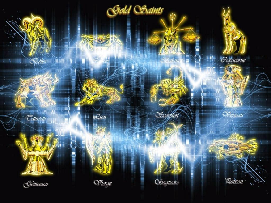 Armaduras de oro - Caballeros Zodiaco