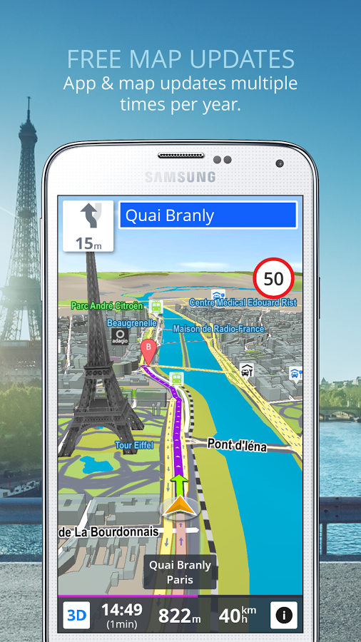 Скачать бесплатно gps навигатор андроид