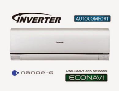 Điều hòa Panasonic kiểu dáng và công nghệ inverter mới nhất